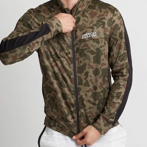 New American eagle outfitters Camo active jacket